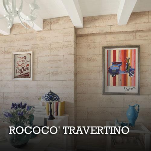 Dekorativne boje ROCOCO' TRAVERTINO